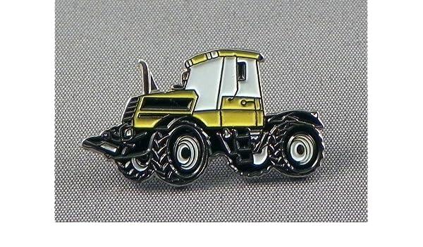 Pin de metal esmaltado, insignia broche Tractor construcción tierra mover - amarillo: Amazon.es: Hogar