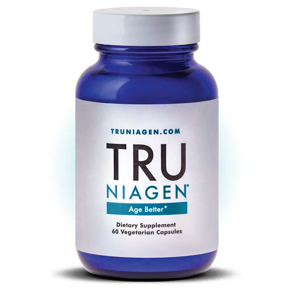 TRU NIAGEN Nicotinamide Riboside - Patented NAD Booster for Cellular Repair & Energy, 150mg Vegetarian Capsules, 300mg Per Serving, 30 Day Bottle by TRU NIAGEN
