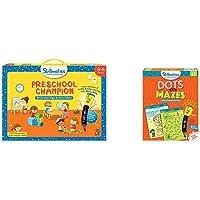 Skillmatics Educational Game: Preschool Champion (3-6 Years) | Creative Fun Activities and Games for & Skillmatics Game: Dots and Mazes (3-6 Years) | Creative Fun Activities for Kids | Erasab
