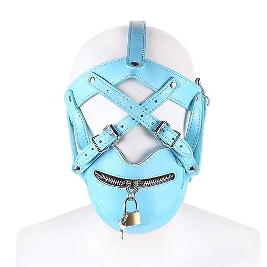 YFH Máscara Tipo arnés de arnés para la Cabeza con Juguetes de ...