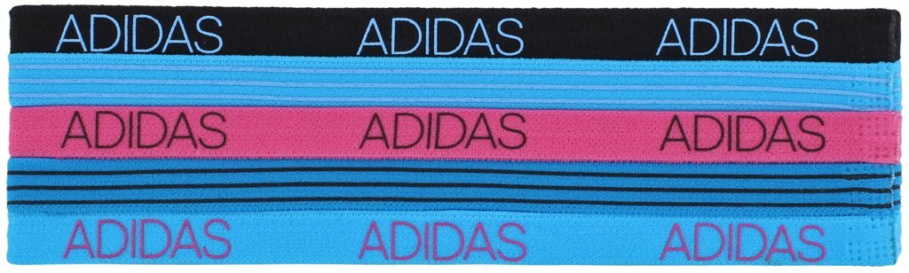 Adidas Womens 5pk Creator Hairband Agron Hats & Accessories