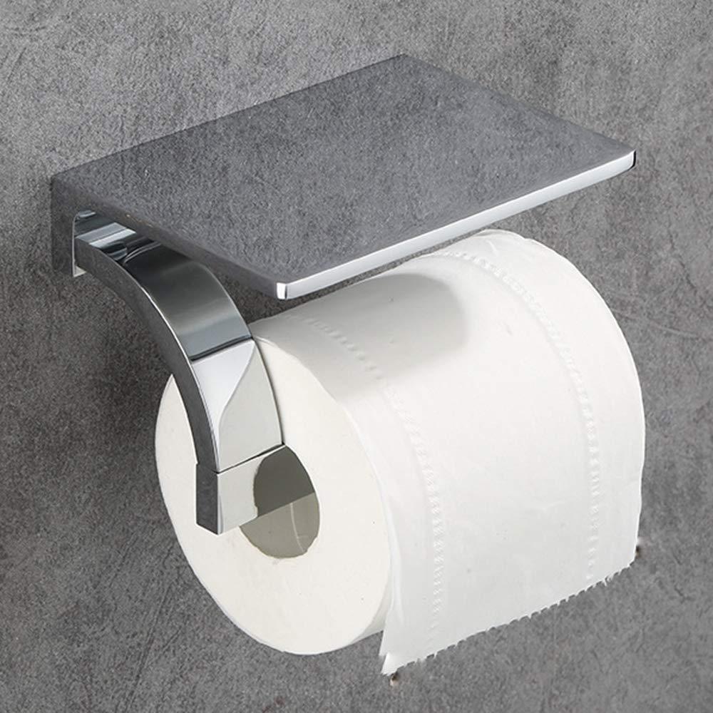 ERT Toilet Paper Holder, All Bronze Does Not Rust Chrome Toilet Roll Holder Thicken Durable Paper Holder