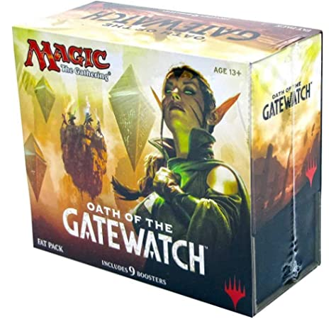 Magic The Gathering – Fat Pack Oath of The gatewatch, UK: Amazon.es: Juguetes y juegos