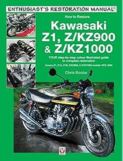 The kawasaki z1 story the death and rebirth of the 900 super 4 kawasaki z1 zkz900 zkz1000 covers z1 z1a fandeluxe Images