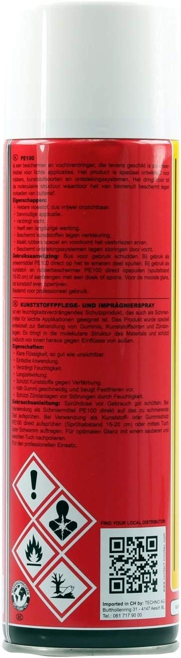 Innotec Pe100 Kunststoffpflege 500 Ml Spray Auto
