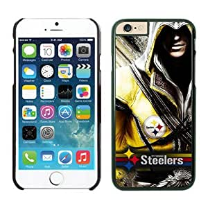 NFL Pittsburgh Steelers iPhone 6 Cases 15 Black 4.7 Inches NFLIphone6Cases14175