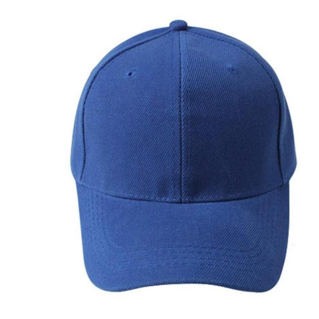 8e282624d3d WYTong Cotton Snapback Dad Hat Plain Cap Low Profile Canvas Baseball Cap  Adjustable Unisex (Blue)  Amazon.com  Grocery   Gourmet Food