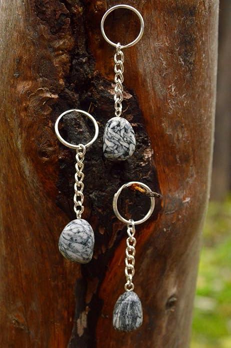 pinolith de joyas (Edelweiss de Magnesit), llavero, carga de ...