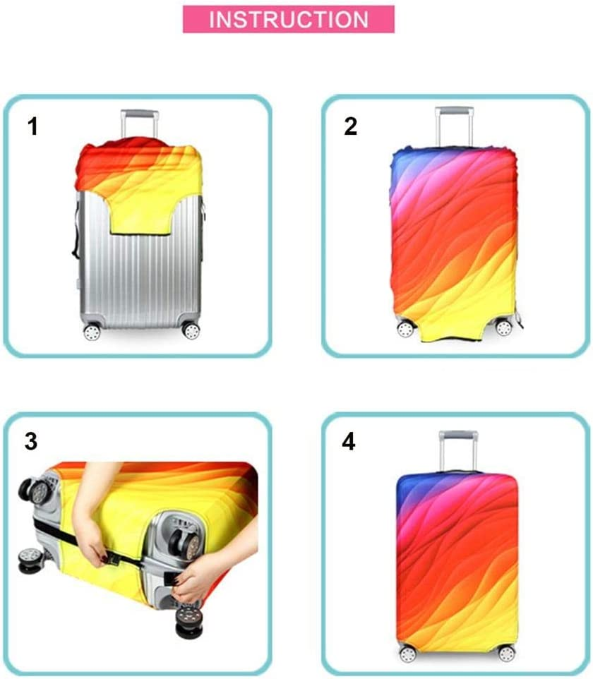 Youth Union Travel Luggage Cover Fit for 18-32 Inch Luggage