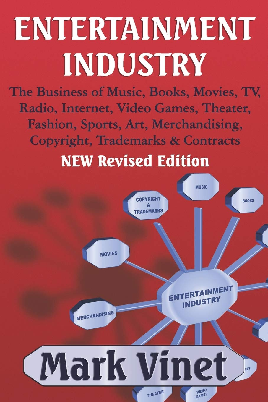 ENTERTAINMENT INDUSTRY: The Business of Music, Books, Movies, TV, Radio, Internet, Video Games, Theater, Fashion, Sports, Art, Merchandising, Copyright, Trademarks & Contracts – NEW Revised Edition
