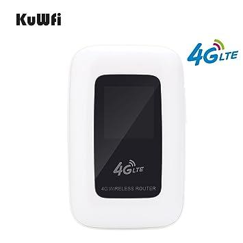 Amazon.com: Compañero de viaje kuwfi Unlocked 4 G Router ...