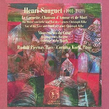 Various Artists Sauguet Henri 1901 1989 Song Cycles
