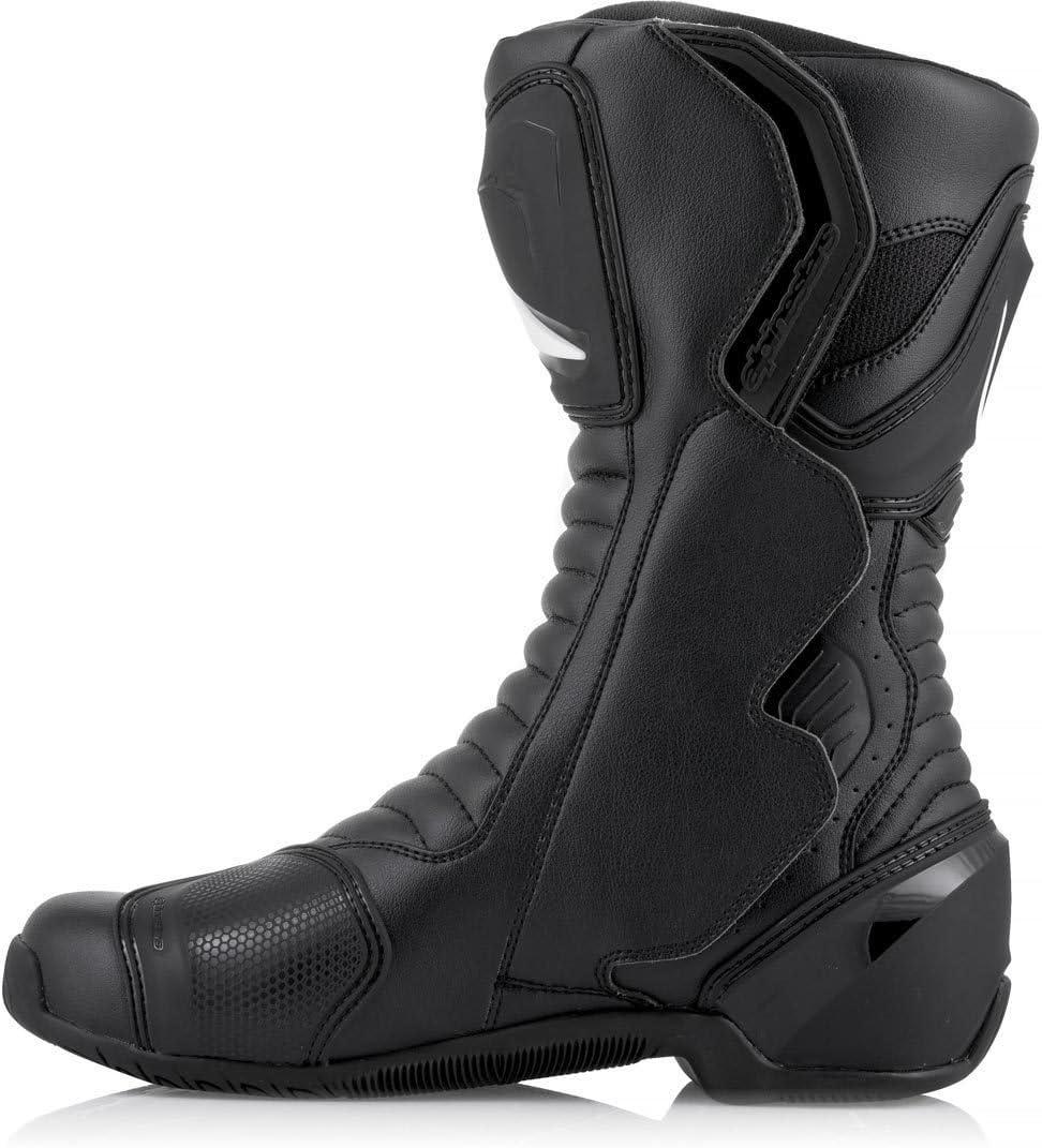 37 Black//Black Motorcycle boots Alpinestars Smx-6 V2 GorSummerx Black Black