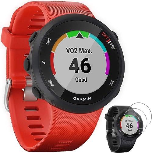 Garmin Forerunner 45 GPS Running Watch 42mm Lava Red 010-02156-06