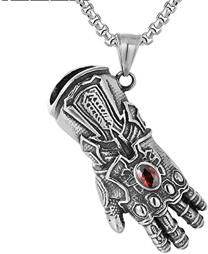 Magnetic Men Women Hematite Stone Beads Cross Pendant Energy Powerful Necklace