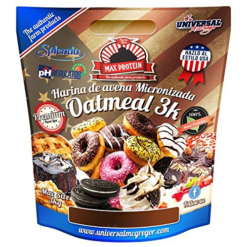 Max Protein Harina de Avena sabor Brownie - 3 kg: Amazon.es: Alimentación y bebidas