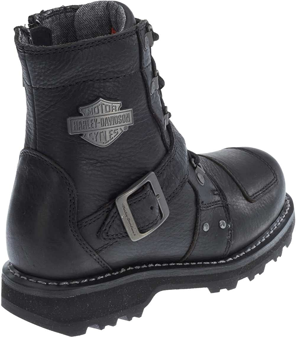 2feb23e4ebe9 Amazon.com  Harley-Davidson Women s Loleta 6.25-Inch Motorcycle Boots  D87111 (Black
