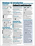 img - for Windows 10 Introduction with 2016 Anniversary Update Quick Reference Guide (Cheat Sheet of Instructions, Tips & Shortcuts - Laminated) book / textbook / text book