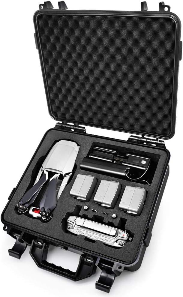 Lekufee Estuche de Transporte Impermeable para dji Mavic Pro 2/Mavic 2 Pro Zoom y Accesorios