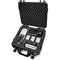 Lekufee Waterproof Case for Mavic 2,Hard Carrying Case Compatible for DJI Mavic 2 Pro/Mavic 2 Zoom/Mavic 2 Enterprise Fly More Combo(Fit for Mavic 2 Accessories: 4 x Batteries, Battery Charging Hub )