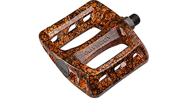 Odyssey Limited Edition Orange Crackle Twisted PC 9/16