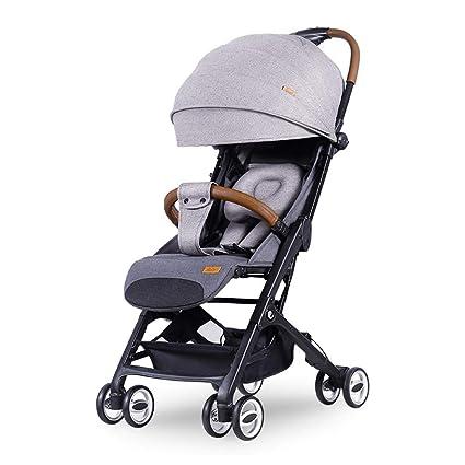 ALIFE Cochecito de bebé Luz Plegable Reclinable Puede Sentarse ...