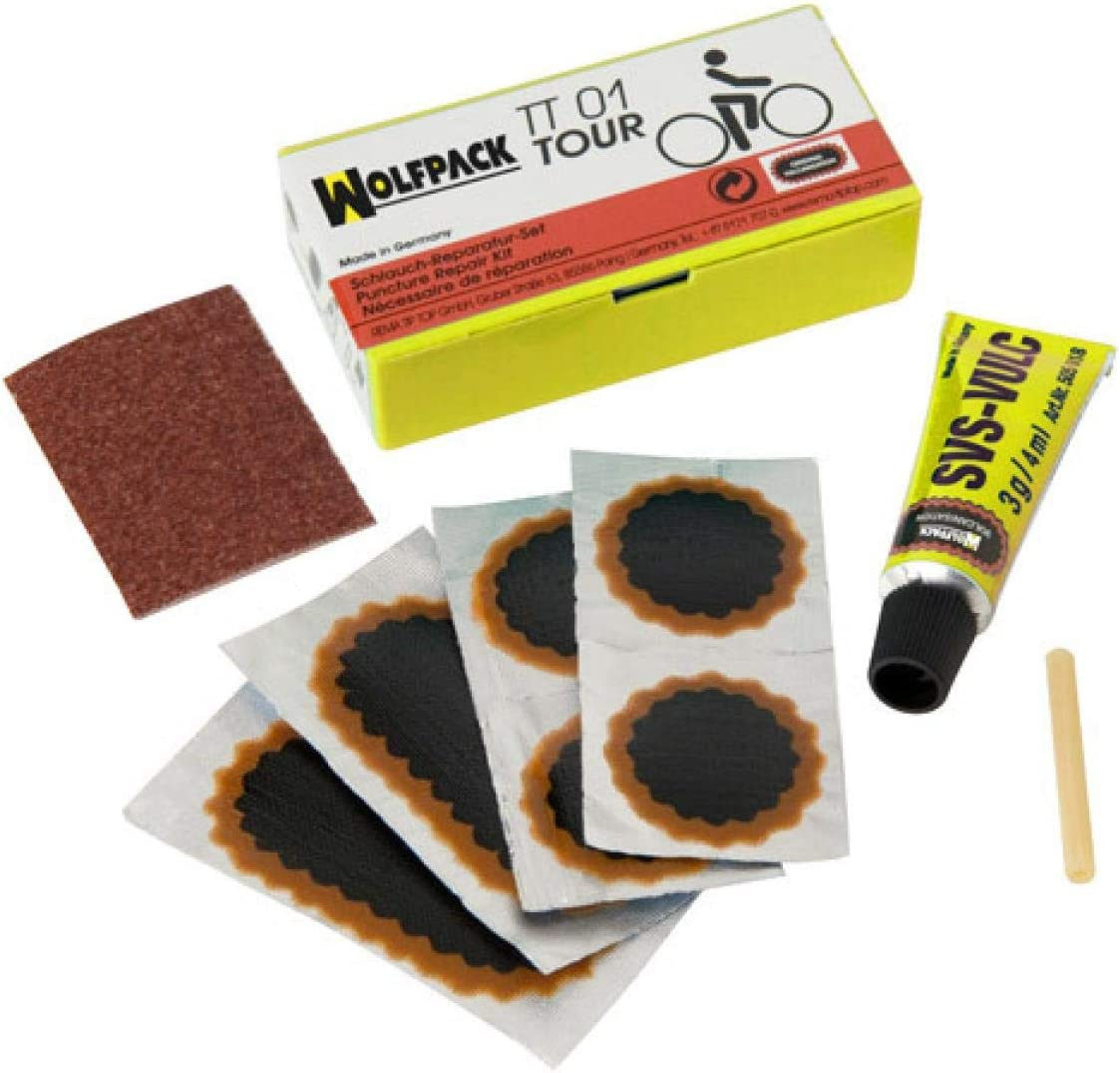 WOLFPACK LINEA PROFESIONAL 2323495 Parches Bici Kit Completo ...