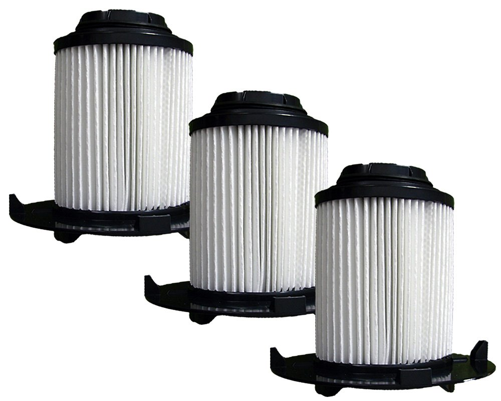(3) Royal Dirt Devil F16 HEPA Vacuum Filter, Vision, Envision wide glide Uprights Vacuum Cleaners, F16, 2JW1000000, 086710, 86710, and all other Dirt Devil vacuums using the F16 filter