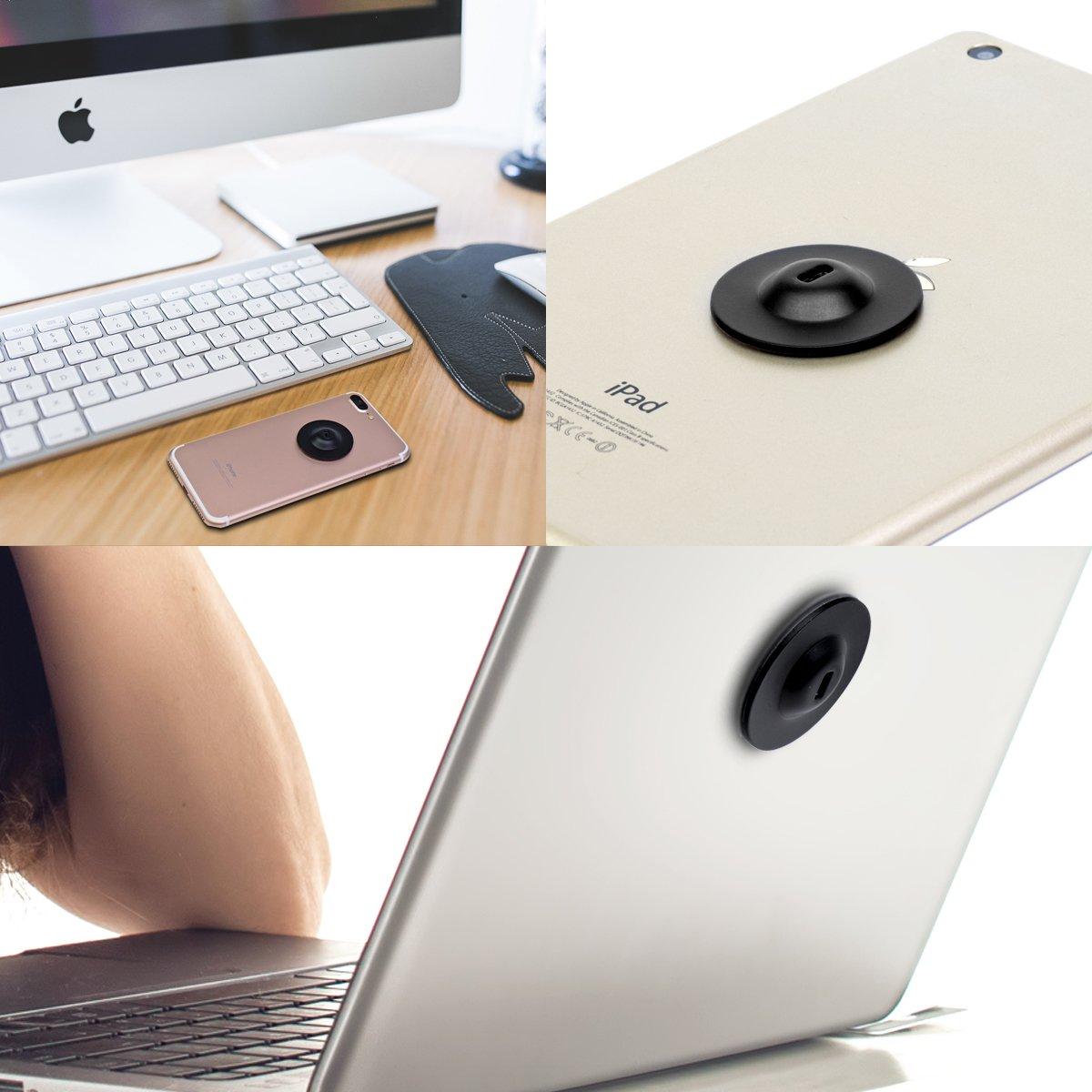 dautres /électroniques 4 Noir iPhone Smart Phone I3C Plaque dancrage Adh/ésif de s/écurit/é Verrou Universel pour Loptop Lock c/âble antivol Tablette MacBook Pad iPad