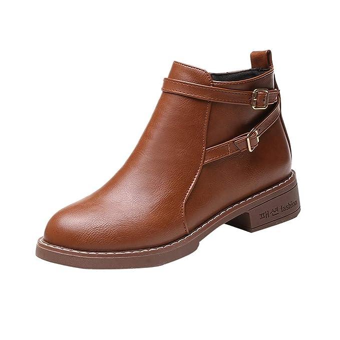 POLP Botas POLP Botines Mujer Planos Botin Abierto Botines Invierno Mujer Botines Mujer Tacon Zapatos Mujer