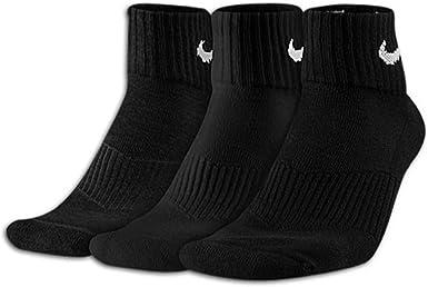 Amazon.com: Nike Women Performance Cushioned Quarter Socks 3 ...