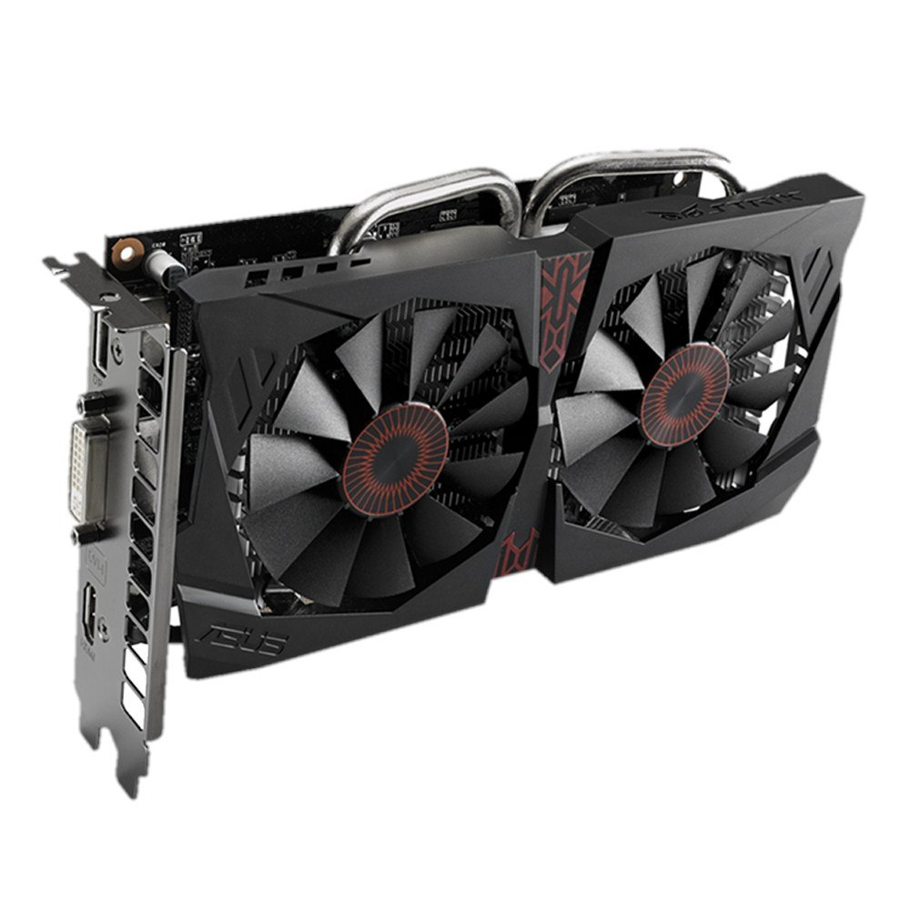 ASUS STRIX-GTX750TI-OC-2GD5 GeForce GTX 750 Ti 2GB GDDR5 ...