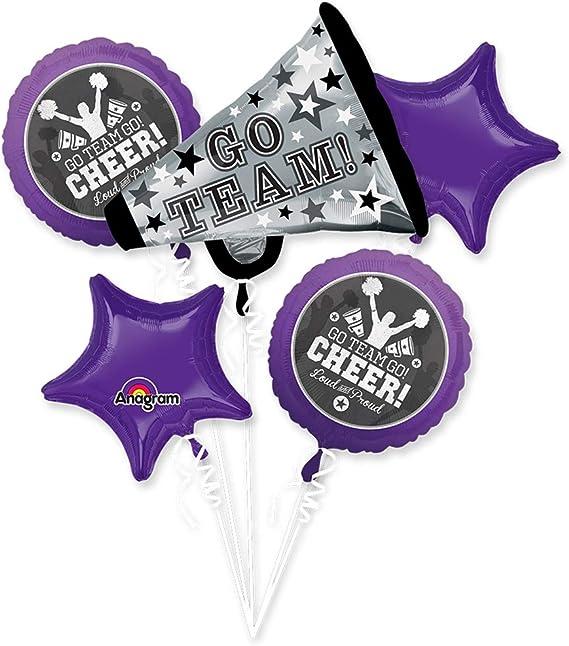 Anagram International 3085101 Go Team Megaphone Shop Balloon Pack 29