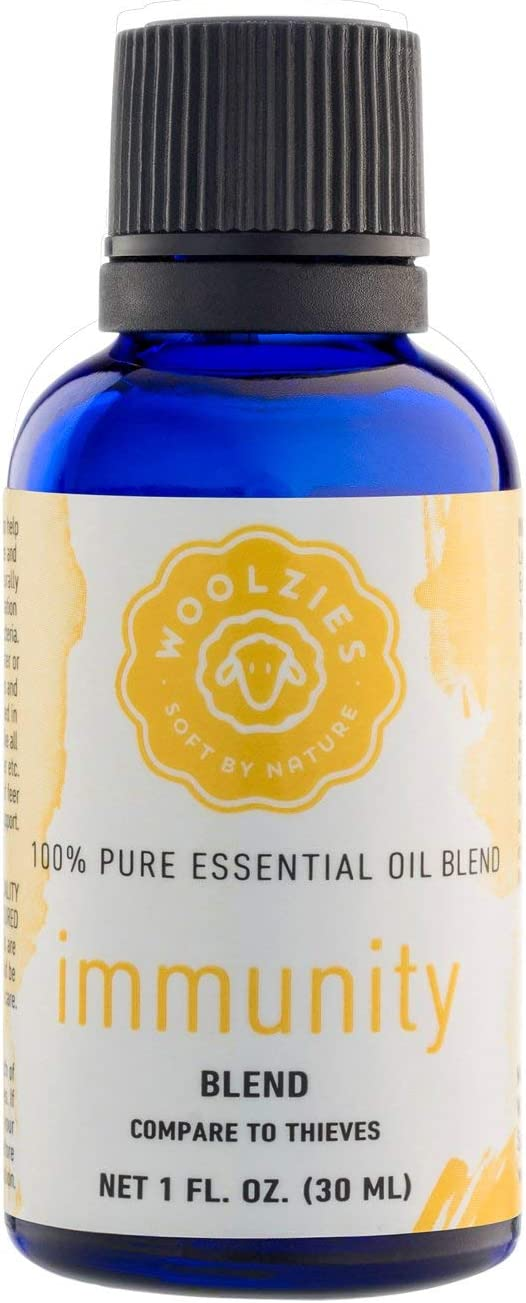 WoolziesImmunity Synergy Blend | for Sinus Health and Cold | 100% Pure, Undiluted, Natural Aromatherapy, Therapeutic Grade