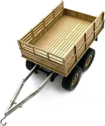 WPL RC Car originale fai da te Modified Trailer Accessory Giocattolo Ciondolo accessori