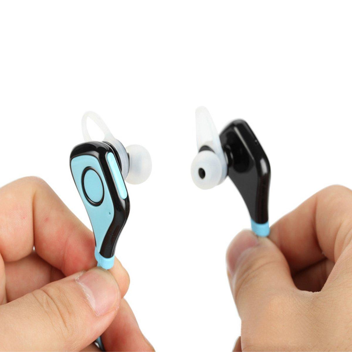 Deportes auriculares Bluetooth, auriculares inalámbricos Kingstar cancelación de ruido auriculares estéreo con micrófono ejecutandose: Amazon.es: ...