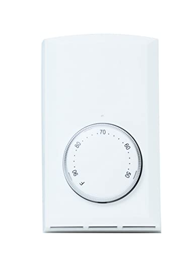 Amazon Com Cadet T521 W Bimetal Sp Thermostat White 22a Home Kitchen
