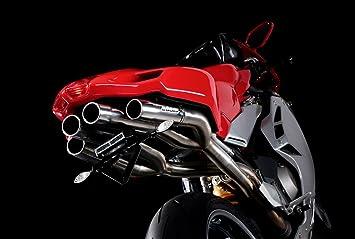 Exhaust Bodis MF4-002 Quattro FR Racing, Slip-On Full-Titan for MV ...
