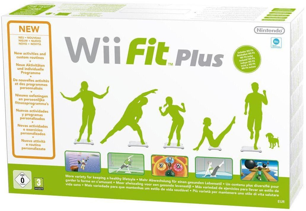 nintendo wii fit plus with balance board wii amazon co uk pc rh amazon co uk Wii Play Wii Sports Games