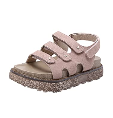 af731bb49f2 LINNUO Womens Sandals Wedge Heel Velcro Roman Platform Thick Bottom Summer  Slingback Shoes Thick Sole Sandals Flatfrom  Amazon.co.uk  Shoes   Bags