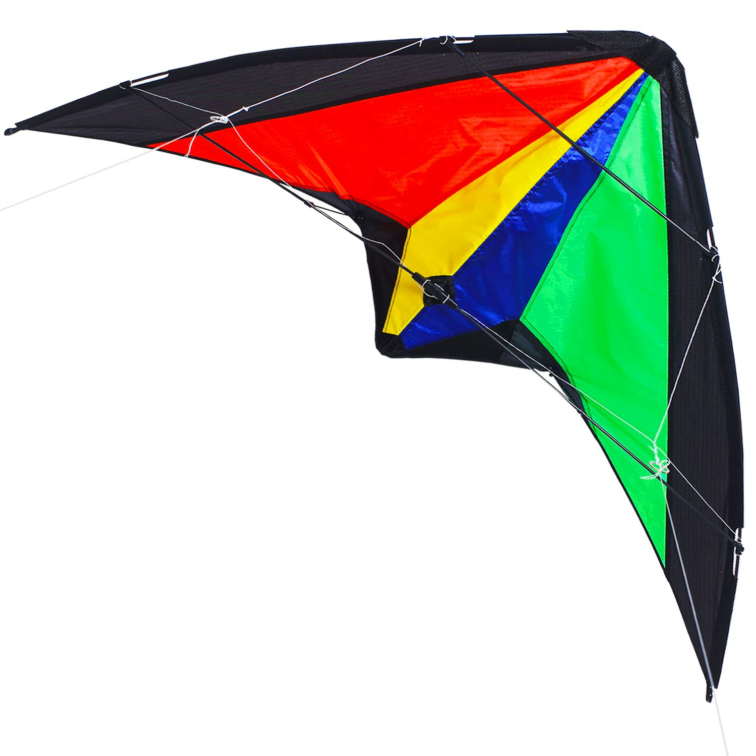 Zhuoyue Kite Dual Line Stunt Kite 51-inch Wingspan, Professional Kites for Adults Outdoor Sport ,Includes Kite Line Handle and Bag by Zhuoyue