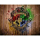 Harry Potter Hogwarts Edible Image Photo Birthday Party Event 1/4 Quarter Sheet Cake Topper Personalized Custom Customized