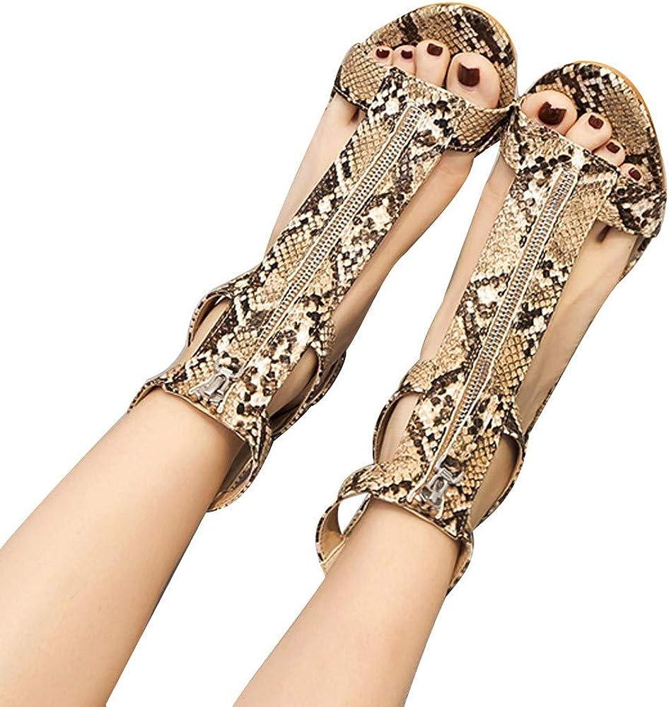 Darringls_Sandalias de Primavera Verano Mujer,Moda Mujer Sandalias ...