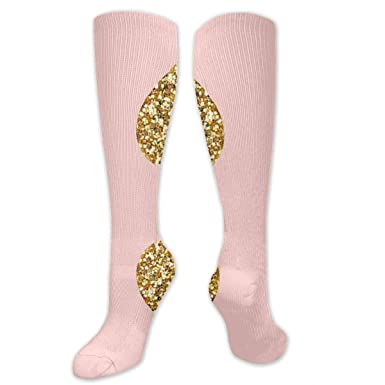 Athletic Socks Crew Dress Socks Non Slip Compression Sock for Gym