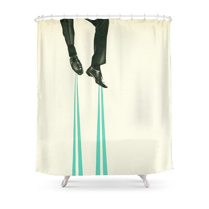 Society6 soy el inventor cortina de ducha, poliéster, multicolor ...