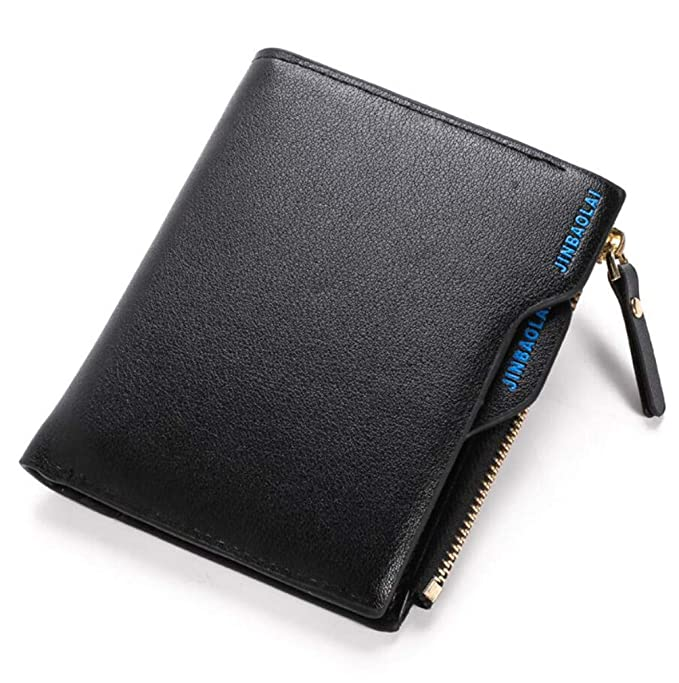 92b51c109ad8 Youngate RFID Blocking PU Leather Wallet Credit Card Holder Bifold ...