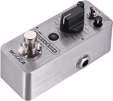 Bulufree - Caja de ritmos y pedal de rizador Groove Loop 3 modos ...