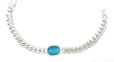 Buy Om Jewellers Men S Salman Khan Silver Bracelet Online At Low