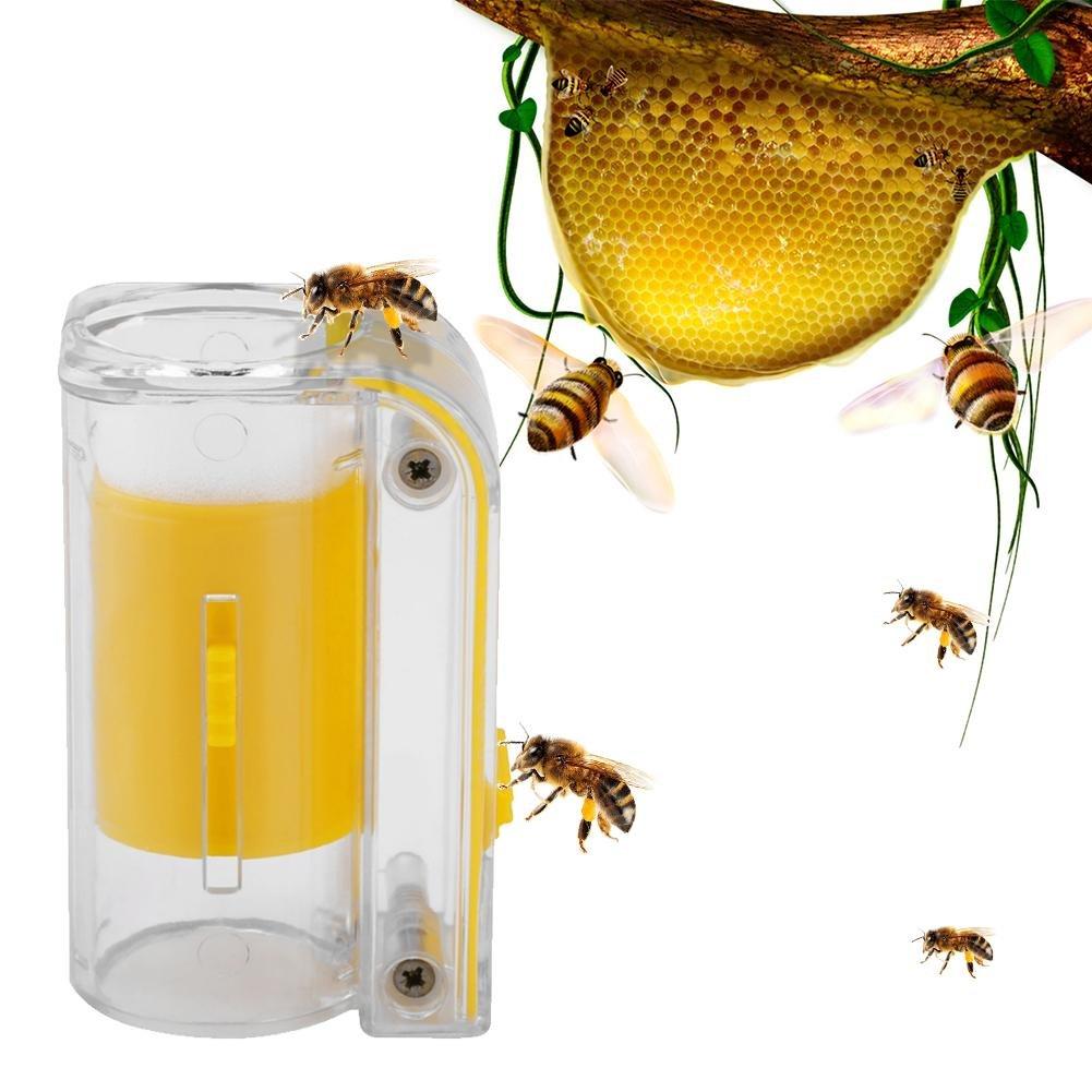 soundwinds Reine Abeille Bouteille Outils d'apiculture Outils D'apiculture De Boîte De Bouteille De Marqueur De Reine d'abeille Attrape-Abeille Cage de la Reine des Abeilles