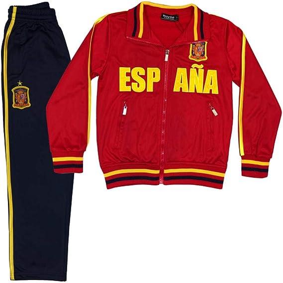 NPZ Jogging survêtement Foot Espagne Enfant